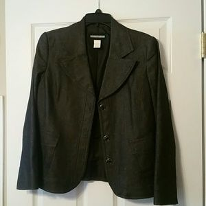 Requirements black sparkle jacket